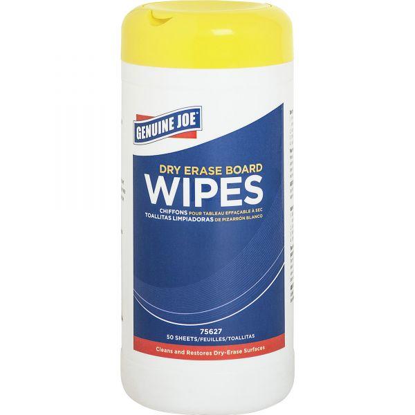 Genuine Joe Dry Erase Board Cleaning Wipes