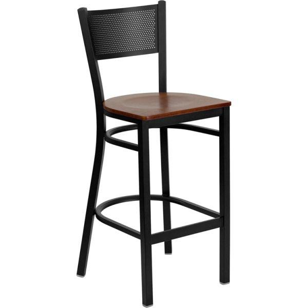 Flash Furniture HERCULES Series Grid Back Barstool