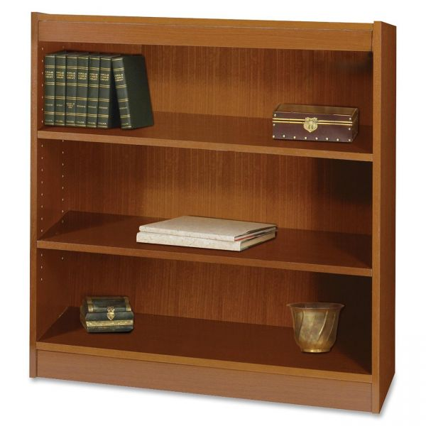 Safco Square-Edge 3-Shelf Bookcase