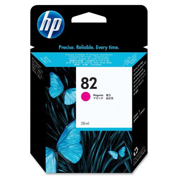 HP 82 Magenta Ink Cartridge (CH567A)