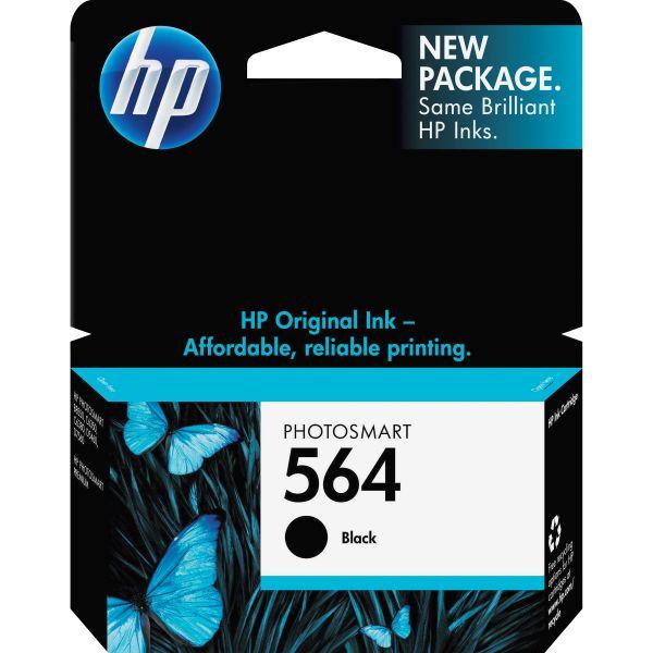 HP 564 Black Ink Cartridge (CB316WN)