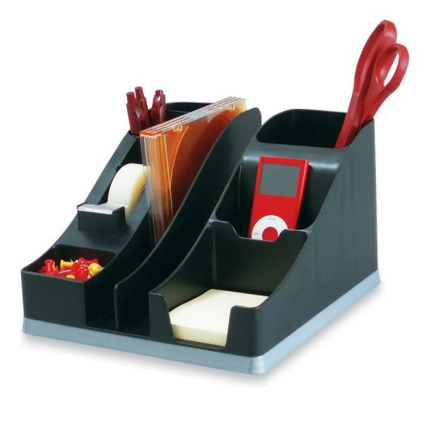 Deflect-o Silouettes All-in-One Desktop Organizer