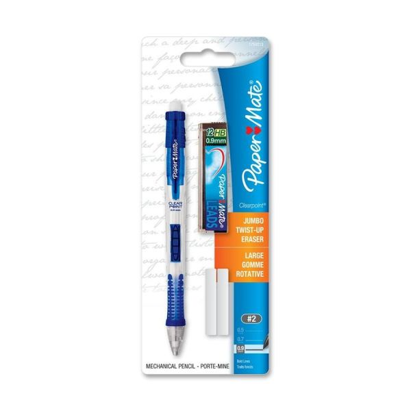 Papermate Clearpoint 0.9 Mechanical Pencil Set