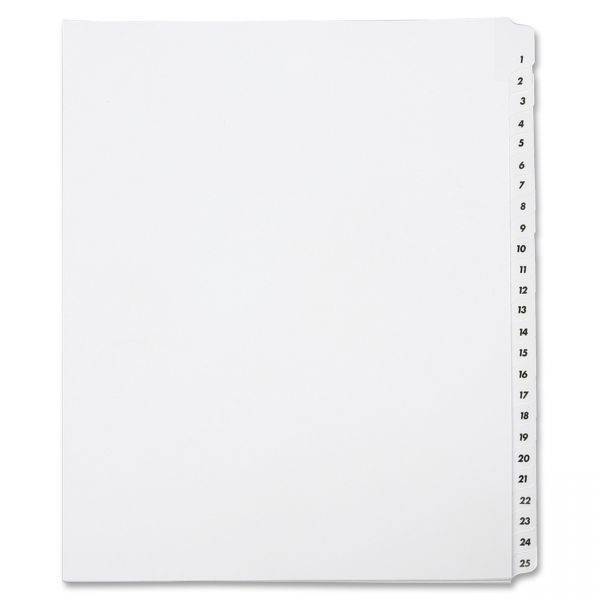 SKILCRAFT Legal Index Dividers