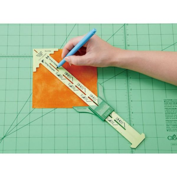 No-Hassle Triangle Gauge By Nancy Zieman