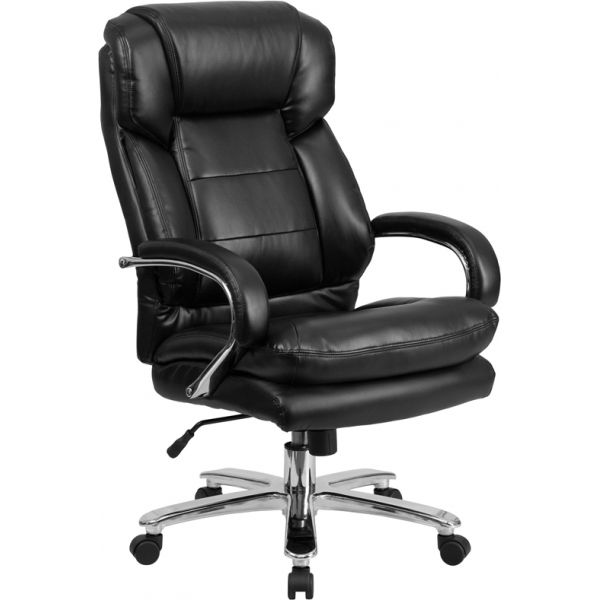 Flash Furniture Big & Tall Leather Executive Swivel Chair [GO-2078-LEA-GG]