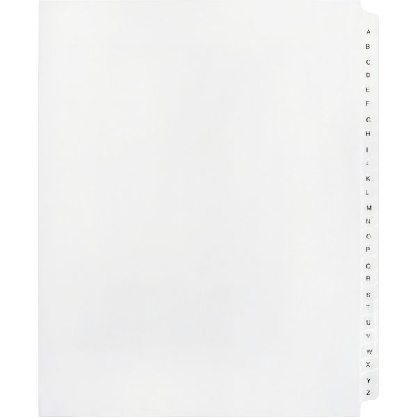 Kleer-Fax 90000 Series Legal Index Dividers