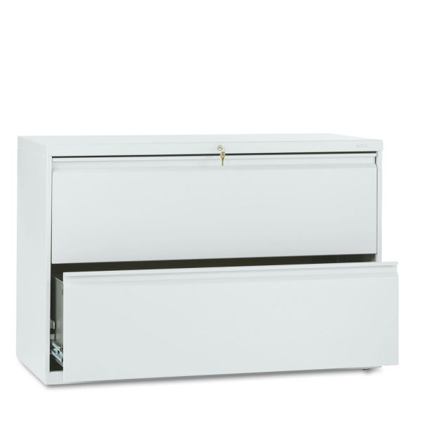 HON 800 Series Full-Pull 2 Drawer Lateral File Cabinet