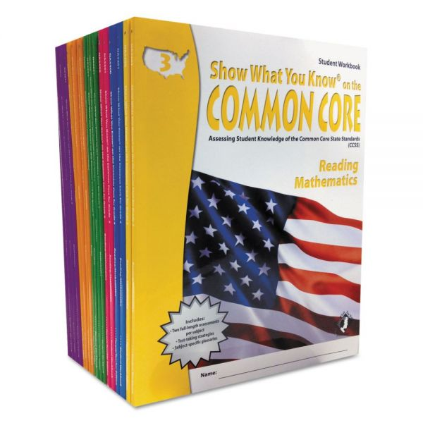 Show What You Know Common Core Assessment Reference Kit