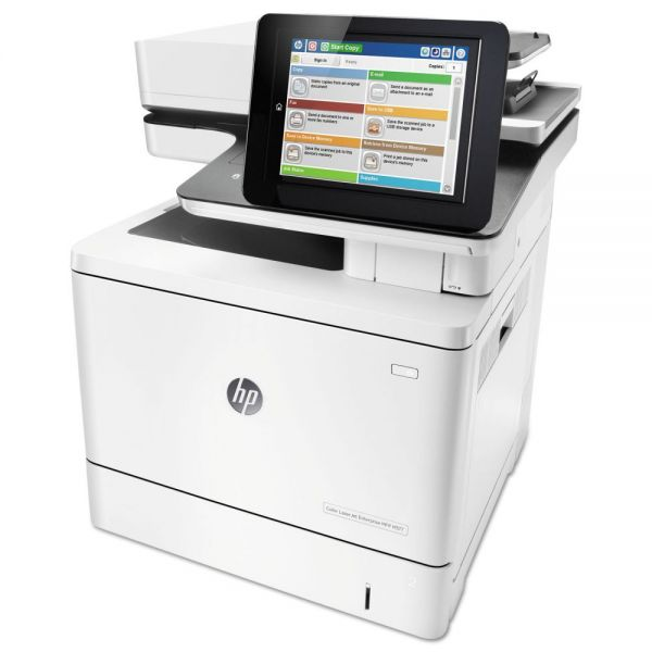 HP Color LaserJet Enterprise MFP M577f, Copy/Fax/Print/Scan