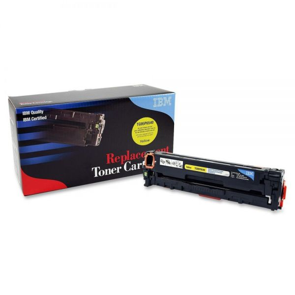 IBM Remanufactured HP CB542A Yellow Toner Cartridge
