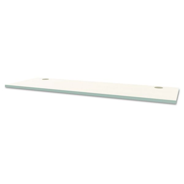 "HON Voi Rectangle Worksurface with Stiffener | 24""D x 72"" W"