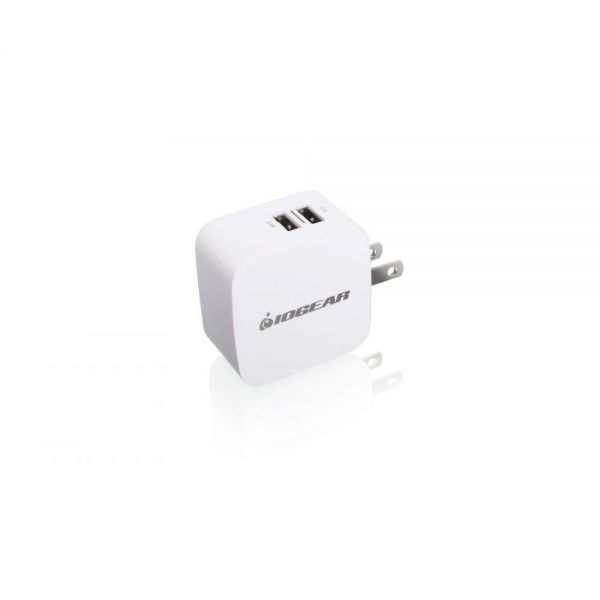 Iogear GearPower Dual USB 4.2A (20W) Wall Charger