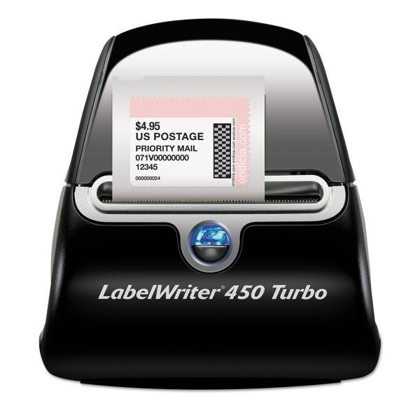 Dymo LabelWriter 450 Turbo Direct Thermal Printer - Monochrome - Label Print
