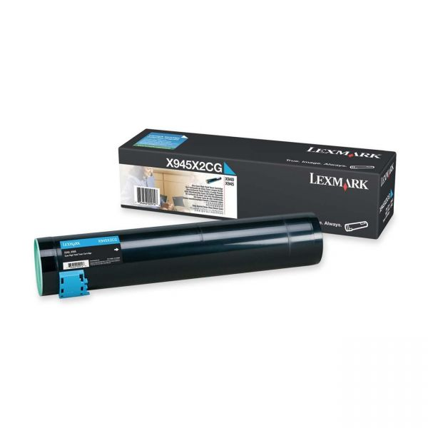 Lexmark X945X2CG Cyan High Yield Toner Cartridge