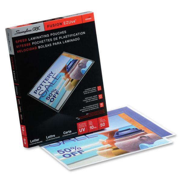GBC HeatSeal Premium Letter Size Laminating Pouches