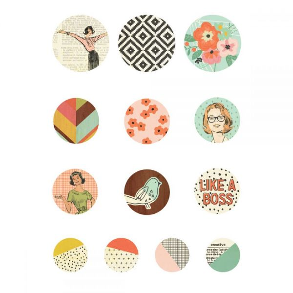 The Reset Girl Self-Adhesive Bradz 13/Pkg
