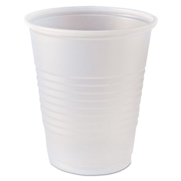 Fabri-Kal RK Ribbed 5 oz Plastic Drink Cups