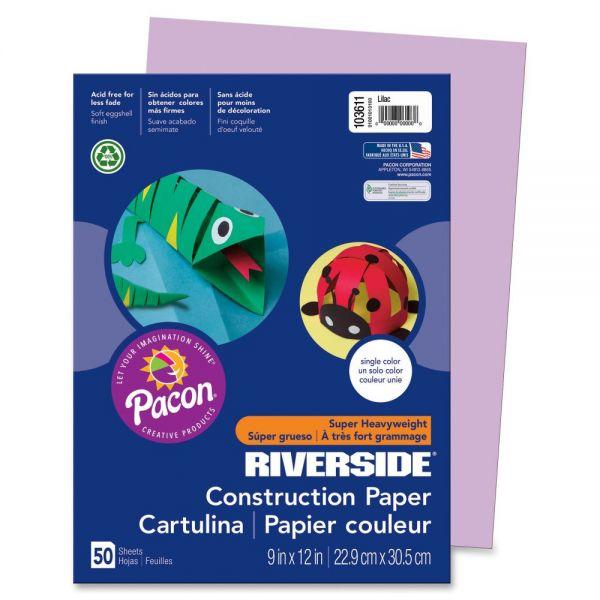 Pacon Groundwood Purple Construction Paper