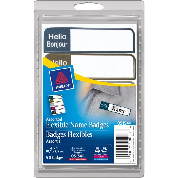 "Avery ""Hello My Name Is"" Name Badge Labels"