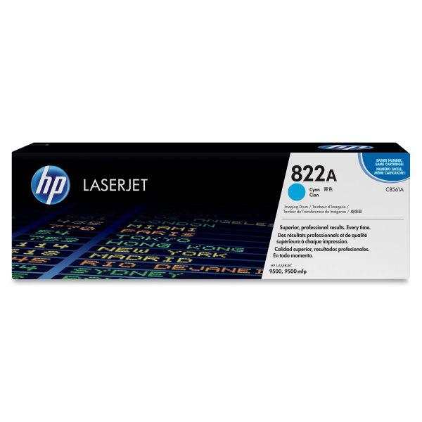 HP 822A (C8561A) Cyan Original LaserJet Image Drum