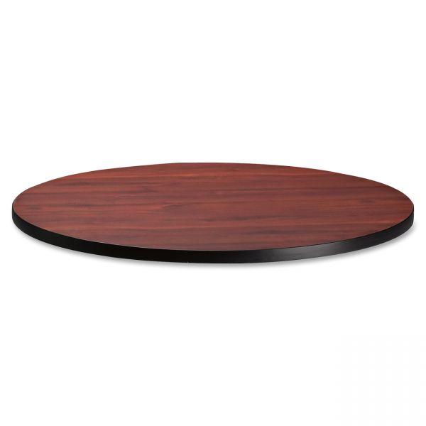 """Tiffany Industries Table Top, 36"""" Round, Mahogany"""