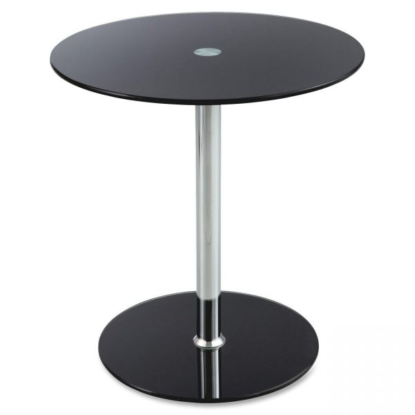 Safco Tempered-glass Accent Table