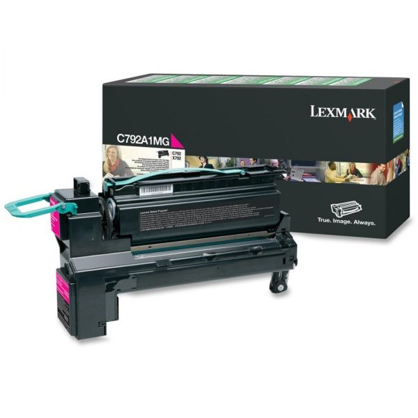 Lexmark C792A1MG Magenta Return Program Toner Cartridge