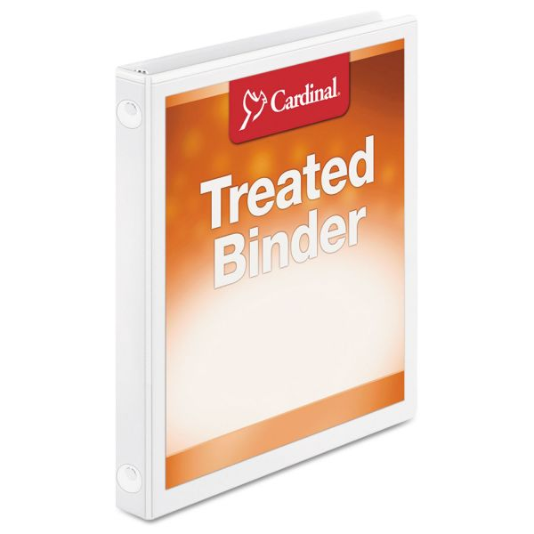 "Cardinal ClearVue 1/2"" 3-Ring View Binder"