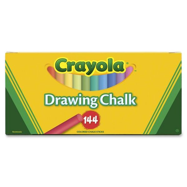 Crayola Colored Drawing Chalk