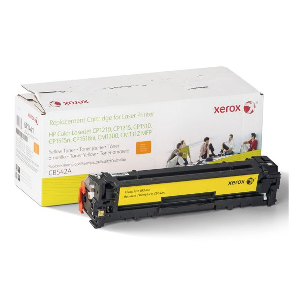 Xerox Remanufactured HP CB542A Yellow Toner Cartridge