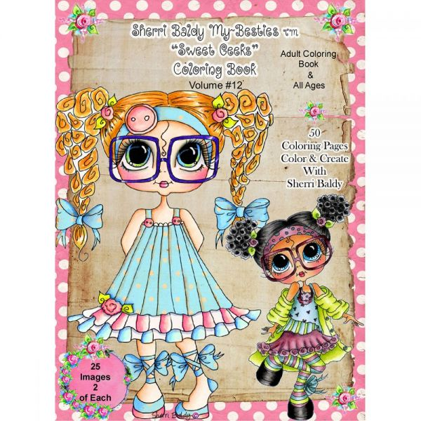 """My Besties Coloring Book 8.5""""X11"""" 50 Pages"""