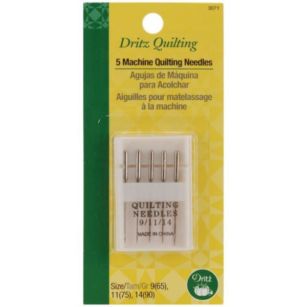 Dritz Quilting Machine Quilting Needles