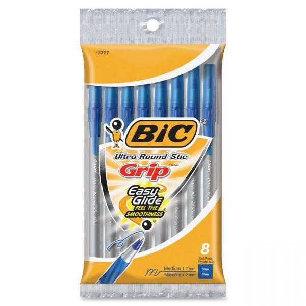 BIC Round Stic Ballpoint Pens
