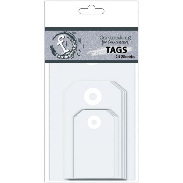 Fundamentals Tags 24/Pkg