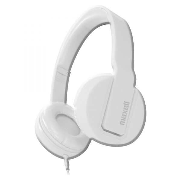 Maxell Solids Headphones, White