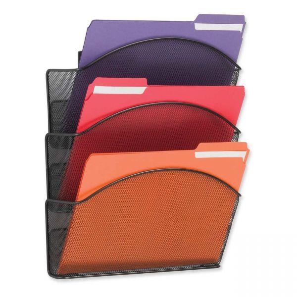 Safco Onyx Mesh Hanging Wall File Pockets