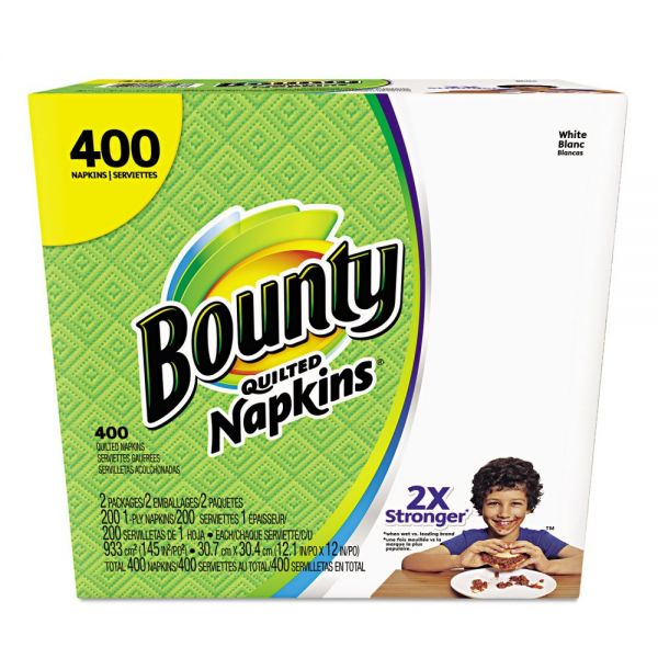 Bounty Quilted Paper Napkins