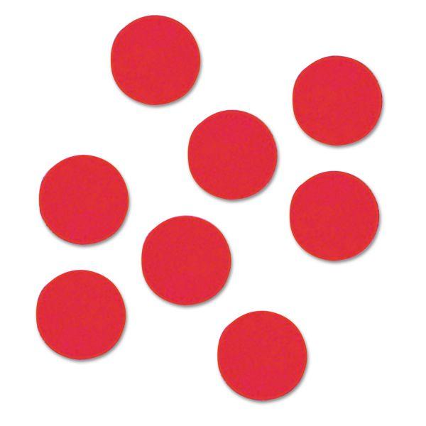 """Quartet Magnetic Circles, 3/4"""" Diameter, Red, 20 per Set"""