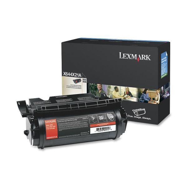 Lexmark X644X21A Black Extra High Yield Toner Cartridge