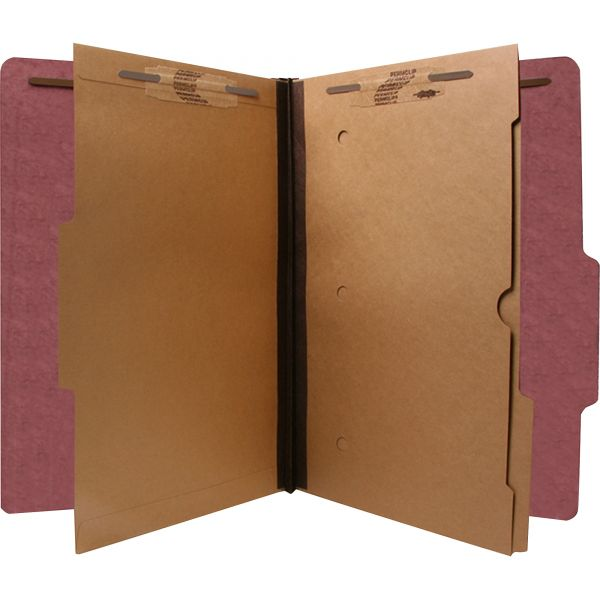 SJ Paper 2-Divider Pressboard Classification Folders