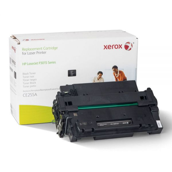 Xerox 106R01621 Replacement Toner for CE255A (55A), 8200 Page Yield, Black