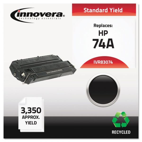 Innovera Remanufactured HP 74A Toner Cartridge