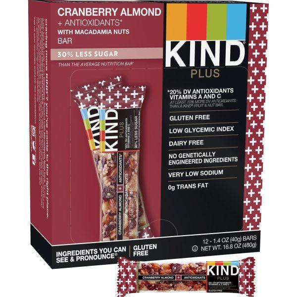KIND Plus Nutrition Boost Bar