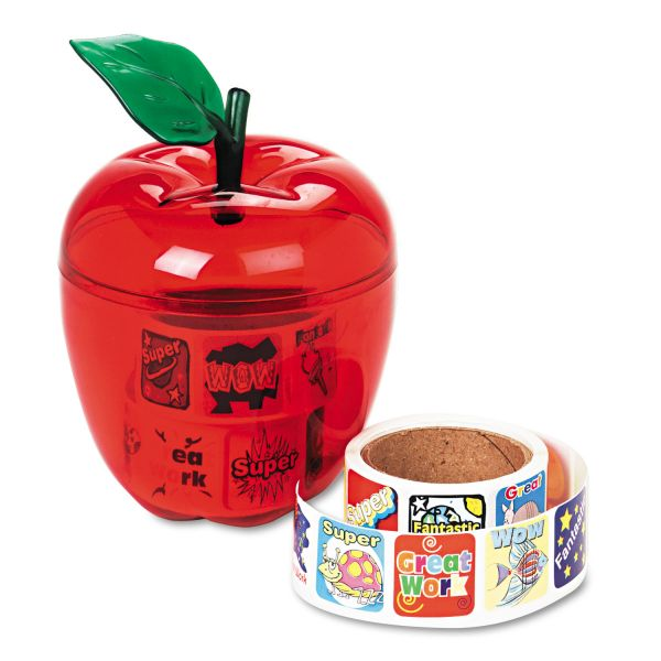 Pacon Plastic Apple & Stickers