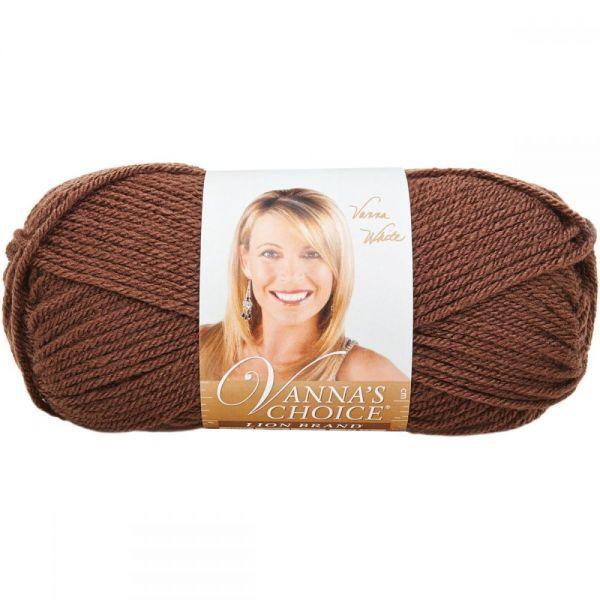Lion Brand Vanna's Choice Yarn - Chocolate