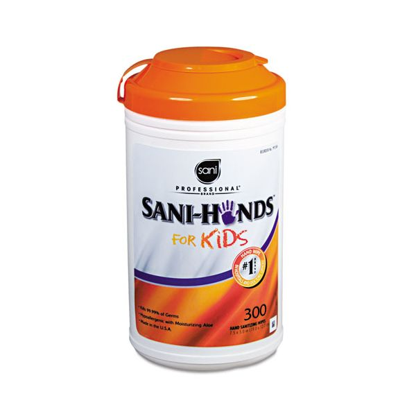 Sani Professional Hands Instant Sanitizing Wipes for Kids