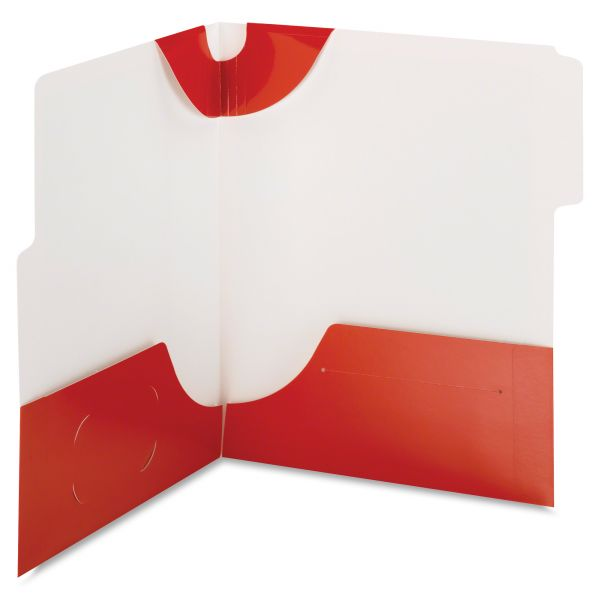 Smead SuperTab Two-Pocket Folders
