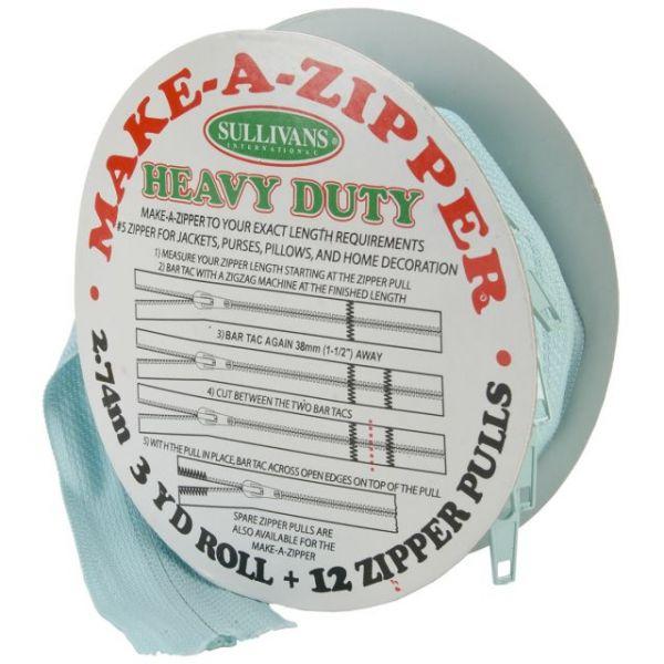 Make-A-Zipper Kit Heavy-Duty 3yd