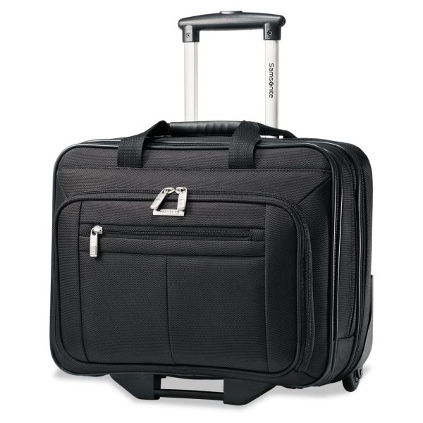 "Samsonite Classic 43876-1041 Carrying Case (Roller) for 15.6"" Notebook - Black"